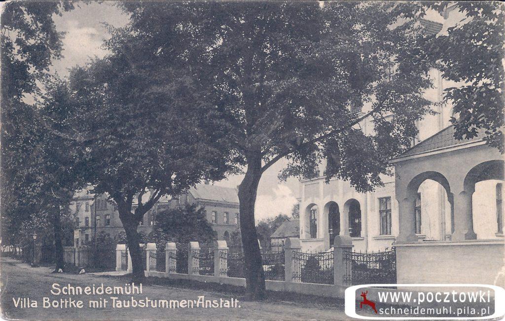 Villa Bottke mit Taubstummen-Anstalt