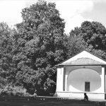Piła, Muszla koncertowa w Parku Miejskim 1964 rok